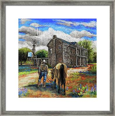 The Home Place Framed Print by Cat Culpepper
