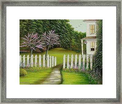 The Home Place Framed Print