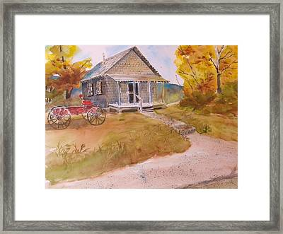 The Home Place Framed Print by Kris Dixon