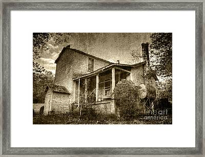 Framed Print featuring the photograph The Home Place by Pete Hellmann