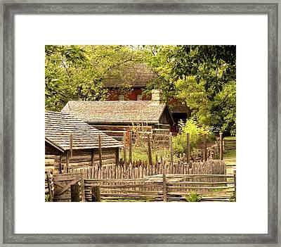 The Homestead Framed Print by Ian  MacDonald