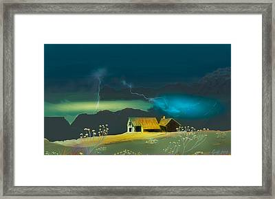 The Homestead Framed Print