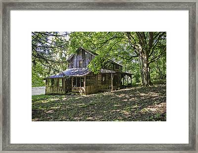 The Homestead Framed Print by Phyllis Taylor