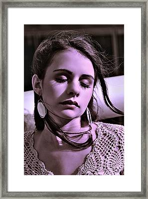 The Honeymoon Is Over Framed Print