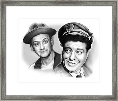 The Honeymooners Framed Print