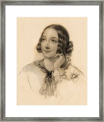 The Honourable Matilda Paget Framed Print by Vintage Design Pics