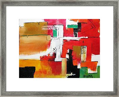 Framed Print featuring the painting The Hood by Gary Smith