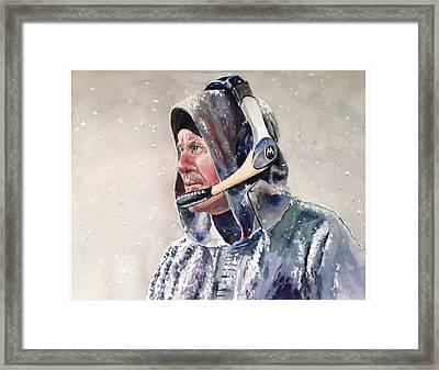 The Hoodie Framed Print by Dan McCole