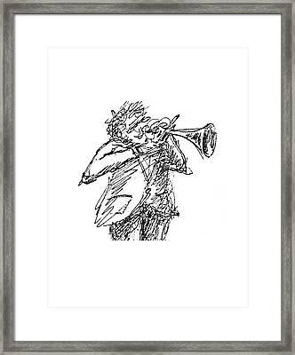 The Hornblower Framed Print by Sam Chinkes