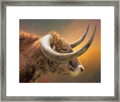 The Horns Framed Print