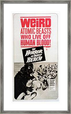 The Horror Of Party Beach, 1964 Framed Print