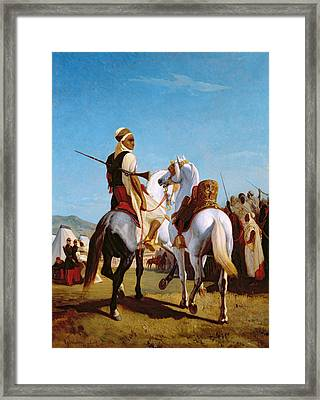 The Horse Of Submission Framed Print