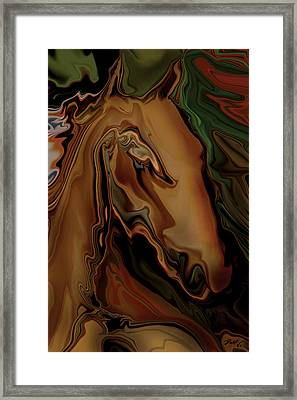 The Horse Framed Print by Rabi Khan