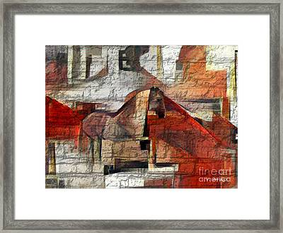 The Horse  Framed Print by Victor Arriaga