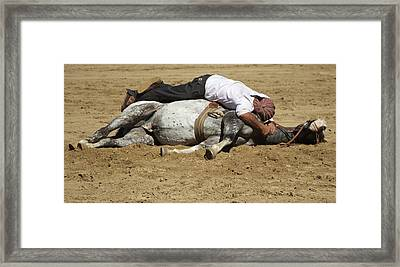 The Horse Whisperer Framed Print by Venetia Featherstone-Witty