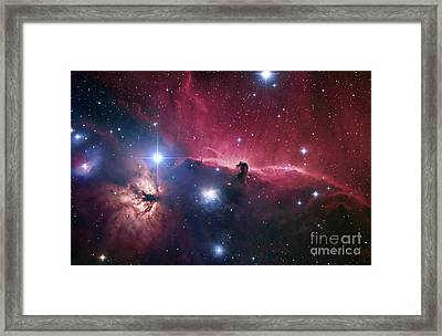 The Horsehead Nebula Framed Print