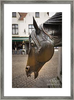 The Horses Head Framed Print by Nichola Denny