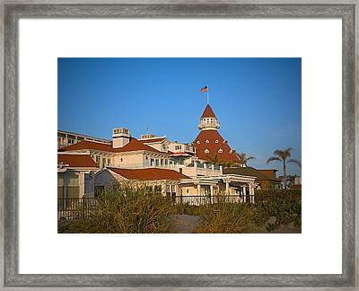 The Hotel Del Coronado Framed Print by See My  Photos