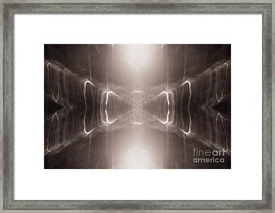 Framed Print featuring the photograph The Hourglass by Patricia Youngquist