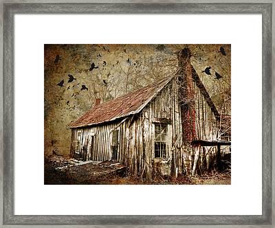 The House Framed Print by Greg Sharpe