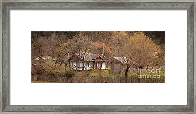 The House In The Stories Framed Print by Gabriela Insuratelu