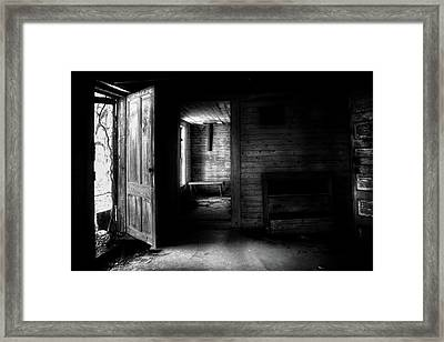 The House In The Woods Framed Print by Greg Mimbs