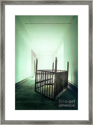 The House Of Lost Dreams Framed Print by Evelina Kremsdorf