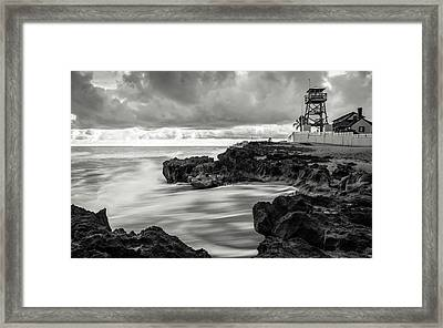 The House Of Refuge Framed Print by Clay Townsend