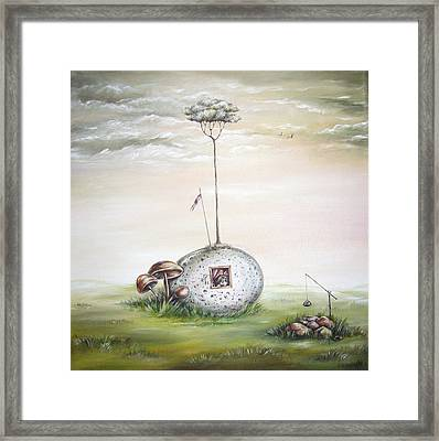 The House Of Soul Framed Print by Marina Fetting