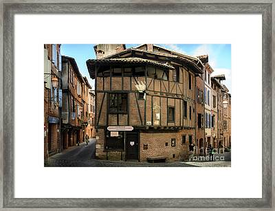The House Of The Old Albi Framed Print by RicardMN Photography