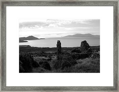 House Of The Piper Framed Print by Aidan Moran