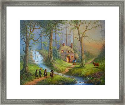 The House Of Tom Bombadil.  Framed Print by Joe  Gilronan