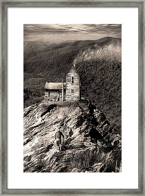 The House Time Forgot Framed Print by Gray  Artus