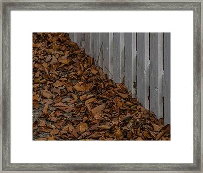 Framed Print featuring the photograph The House Where You Lived by Odd Jeppesen