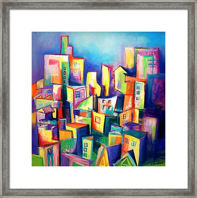 The Houses Framed Print