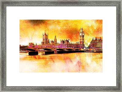 The Houses Of Parliament Framed Print by Gull G