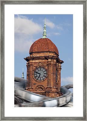 The Hub Framed Print by Kelvin Booker