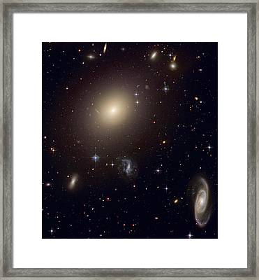 The Hubble Space Telescope Reveals An Framed Print by ESA and nASA