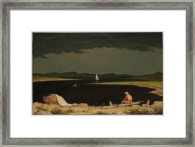 The Hudson River School Framed Print