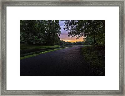 The Hues Of Daybreak Framed Print
