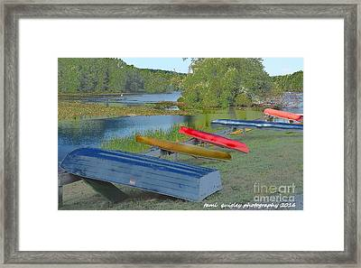 The Hues Of Hopewell Framed Print