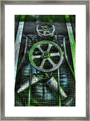 The Hulk Framed Print by Andrew Kubica