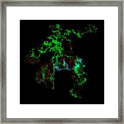 The Hulk Framed Print by Brian Reaves