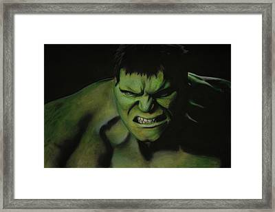 The Hulk Framed Print by Robert Bateman