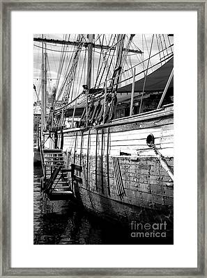 The Hull Framed Print by John Rizzuto