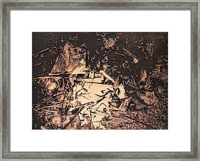 The Human Condition Framed Print by Bobby Zeik