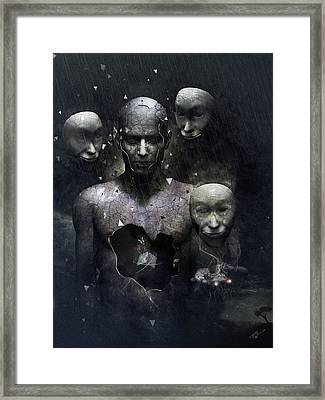 The Human In Me Framed Print by Cameron Gray