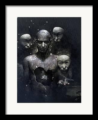 Inner Self Digital Art Framed Prints