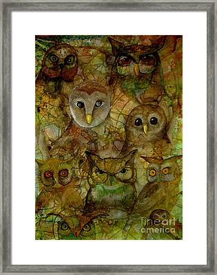 Framed Print featuring the painting The Humble 9 by Amy Sorrell