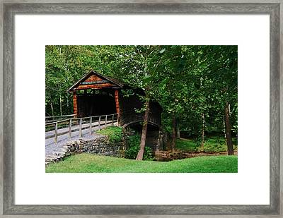 The Humpback Bridge Framed Print by Eric Liller